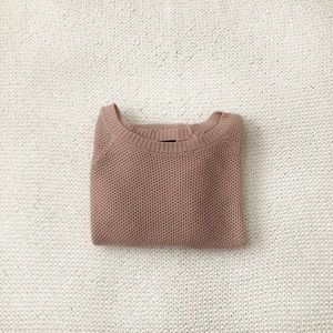 Forever 21 Oversized Blush Pink Sweater